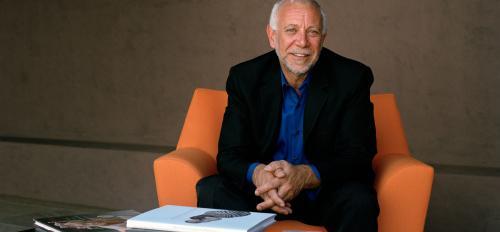 portrait of Peter Held, curator of ceramics for ASU Art Museum
