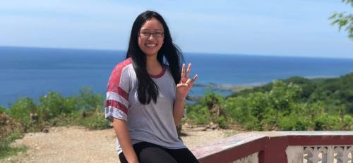 Photo of Monica Orillo in the Philippines