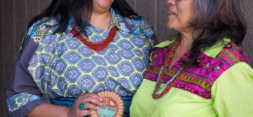 Corrine and Kathy Sanchez