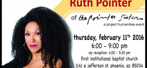 A Conversation with Ruth Pointer