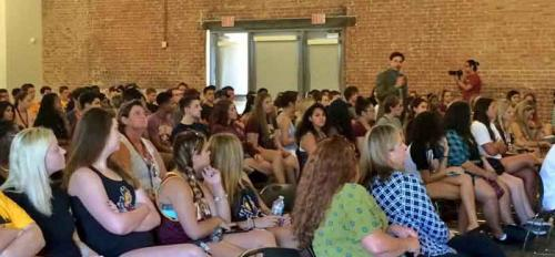 New students in the College of Public Service and Community Solutions