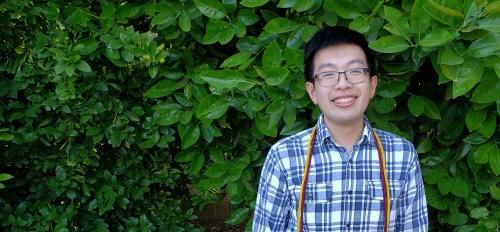 Robert Nguyen outdoors