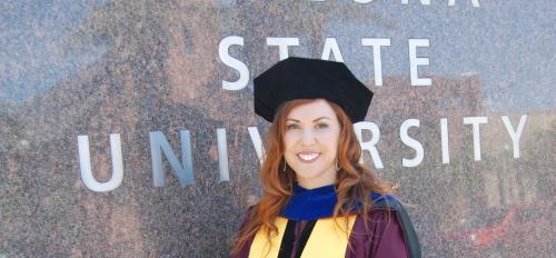 Graduating ASU doctoral student Sarah Snyder / Courtesy photo