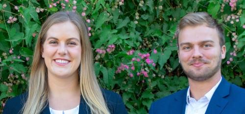 Sarah Desmond and Brock Williams