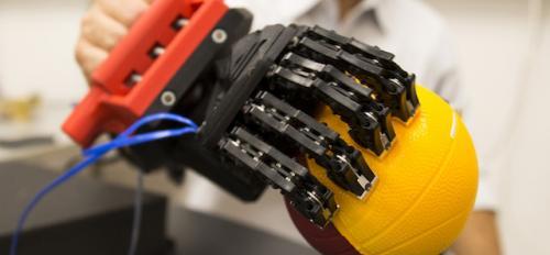 Santello robotic hand