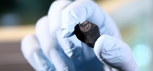The Cibecue Star Rock meteorite
