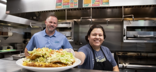 Someburros is locally-owned Mexican restaurant chain serves Vasquez family recipes in eight locations around Arizona.