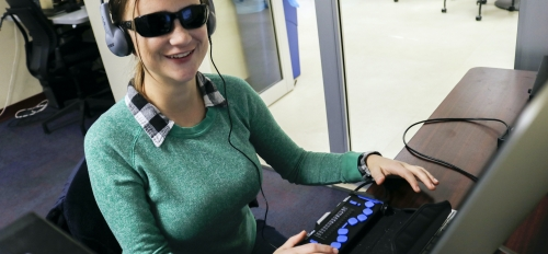 Student Emily Bowe utilizes services at ASU Student Accessibility and Inclusive Learning Services