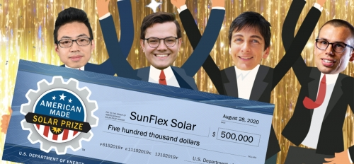 SunFlex Solar wins grand prize at national solar energy competition