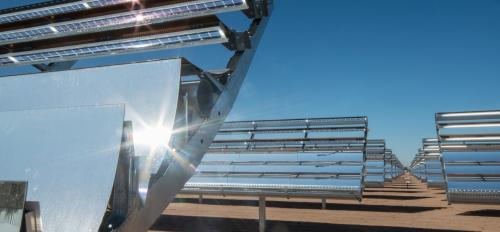 Solar power grid.