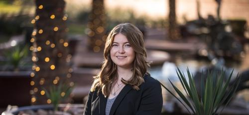Thunderbird graduate Makenna Flynn plans to pursue her master's in management in the school's 4+1 program.