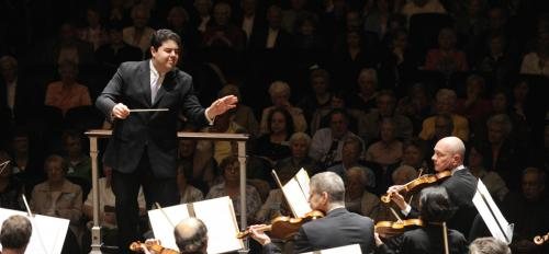 """Phoenix Symphony Music Director Tito Muñoz will conduct the ASU Symphony Orchestra in Stravinsky's """"Rite of Spring"""" at ASU Gammage."""