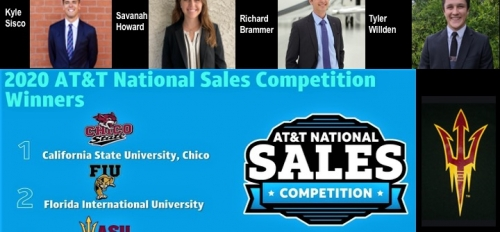 2020 AT&T National Sales Competition Winners