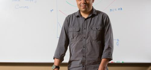Allan Hernandez, ASU's top teaching assistant