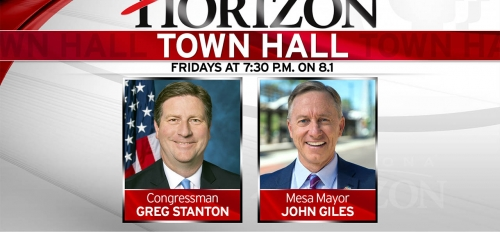 Arizona Horizon Town Hall airs Fridays at 7:30 on Arizona PBS
