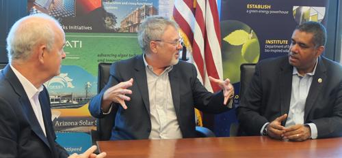 U.S. Virgin Islands representatives meet leaders at ASU