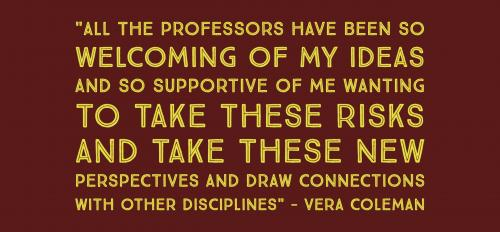 Quote by Vera Coleman