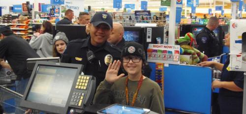 ASU police officers take kids holiday shopping