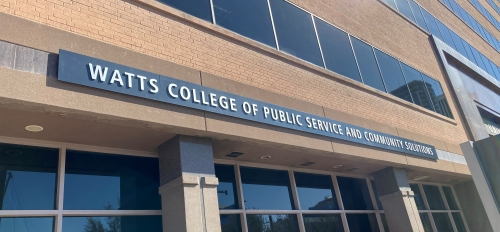 Watts College of Public Service and Community Solutions, Arizona State University