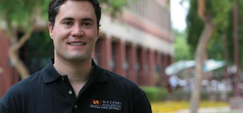 portrait of Michael Wiles, assistant professor of business, ASU