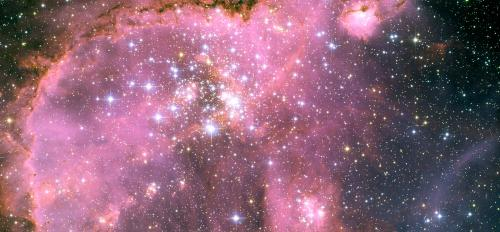 A star cluster called NGC 346