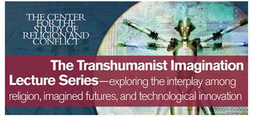 banner ad for The Transhumanist Imagination Lecture Series