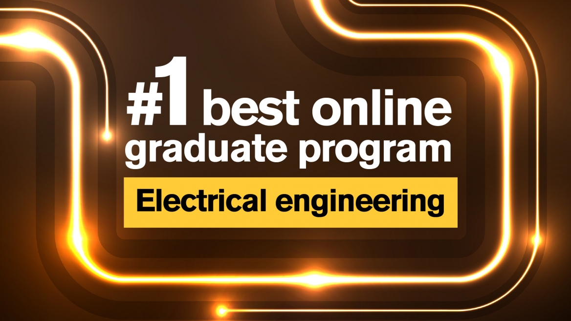 ASU online electrical engineering master's program ranks #1 in nation