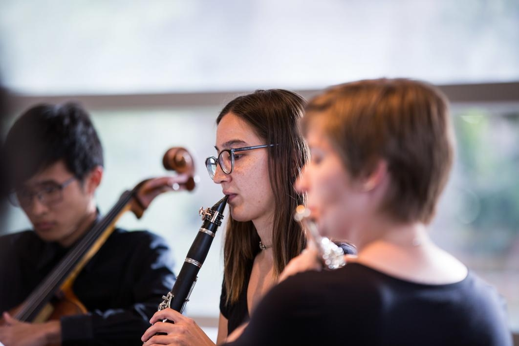 Musicians perform at Science Exposed