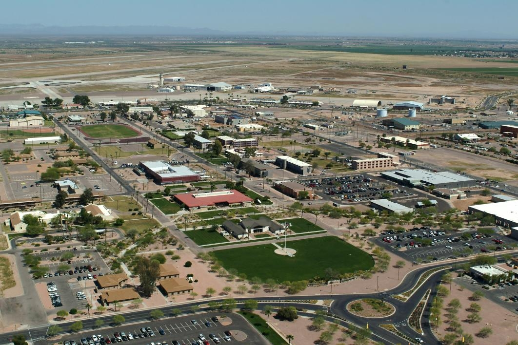 archived aerial view of ASU East campus
