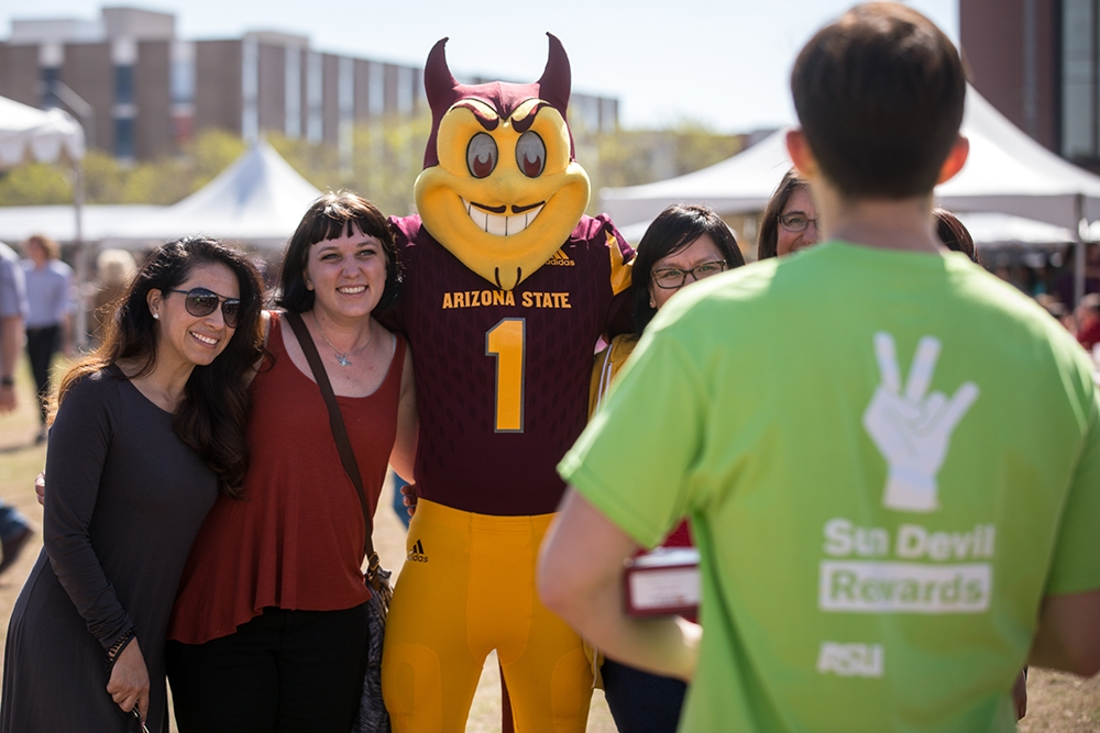 Sparky and his Tempe friends