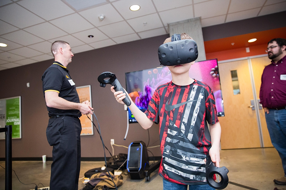 ASU Night of the Open Door Checking out VR