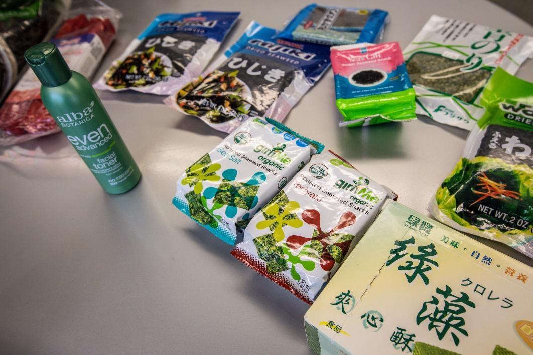 Food products using algae