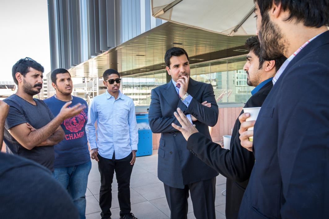 Qatar Ambassador Visits ASU