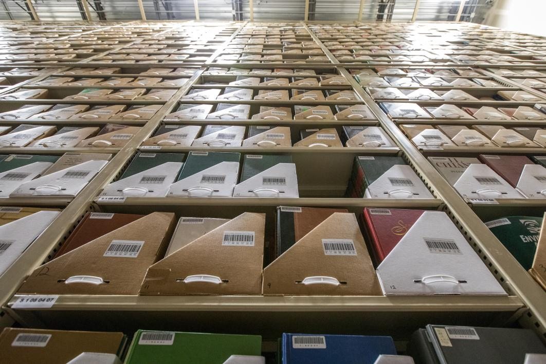 Books in cold storage
