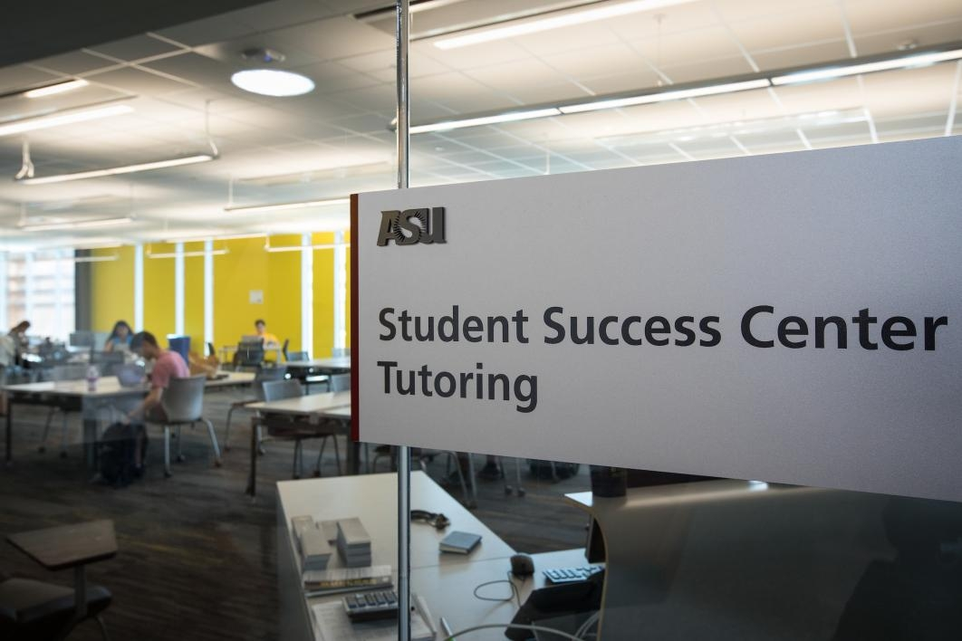 view into tutoring center