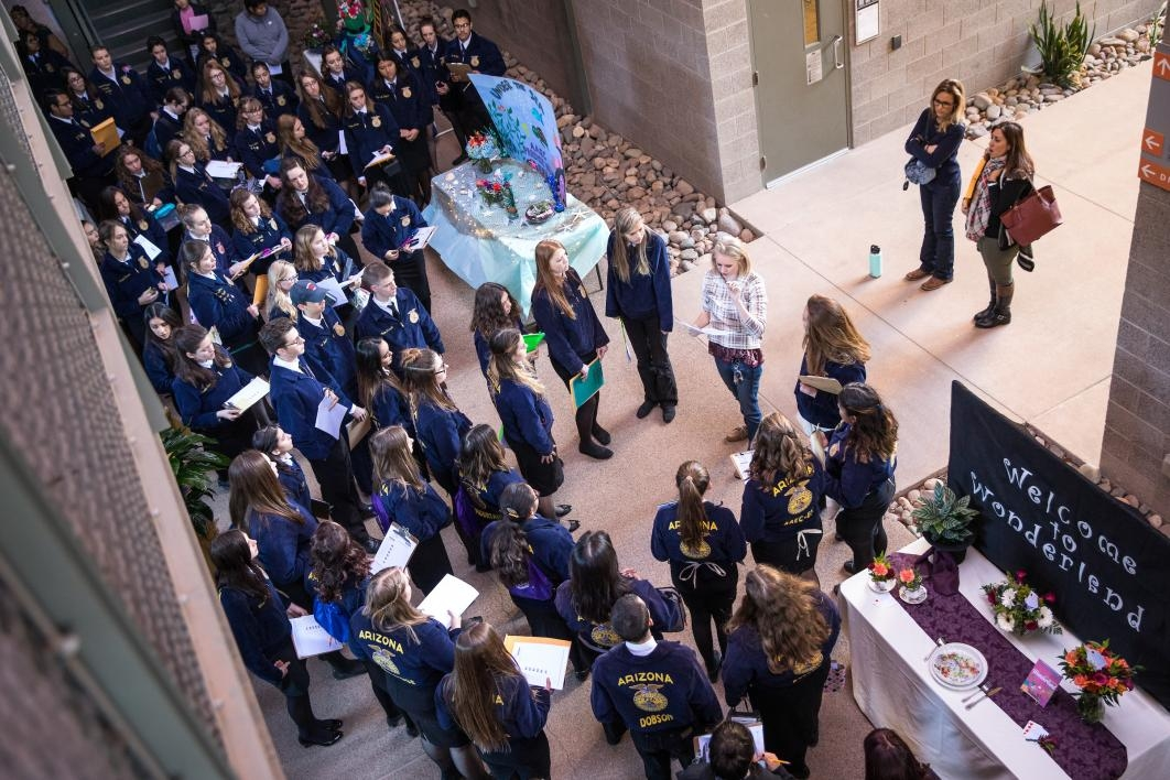 Students gather for FFA Conference