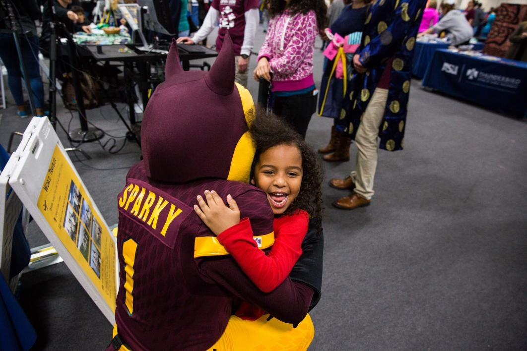 Hug from Sparky