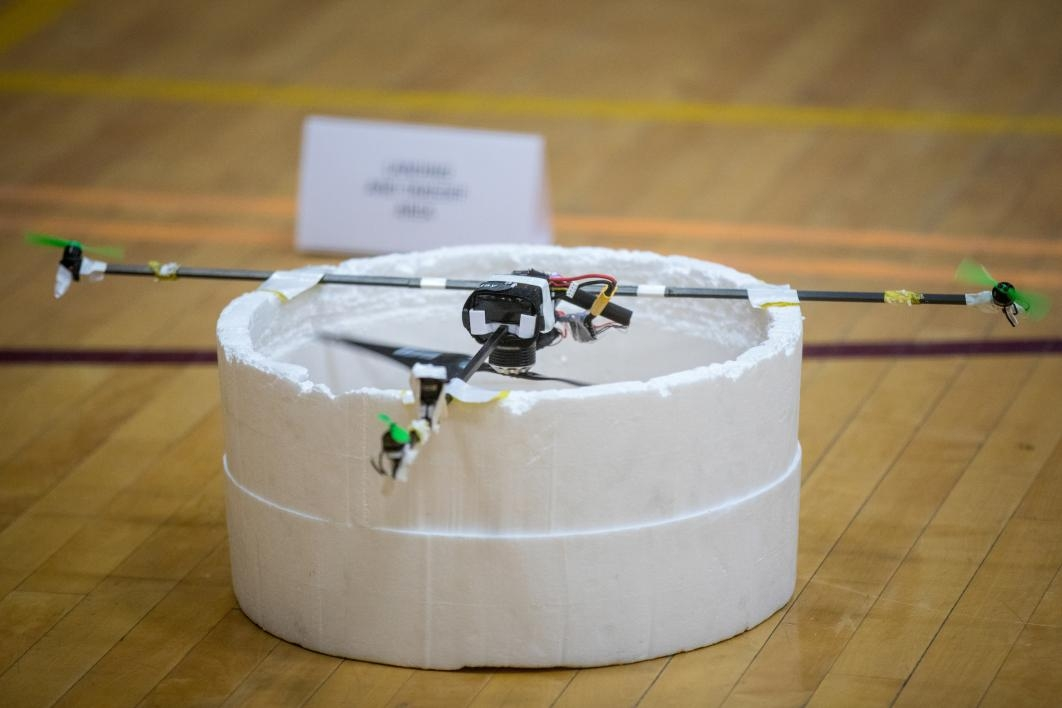 Student-built drone