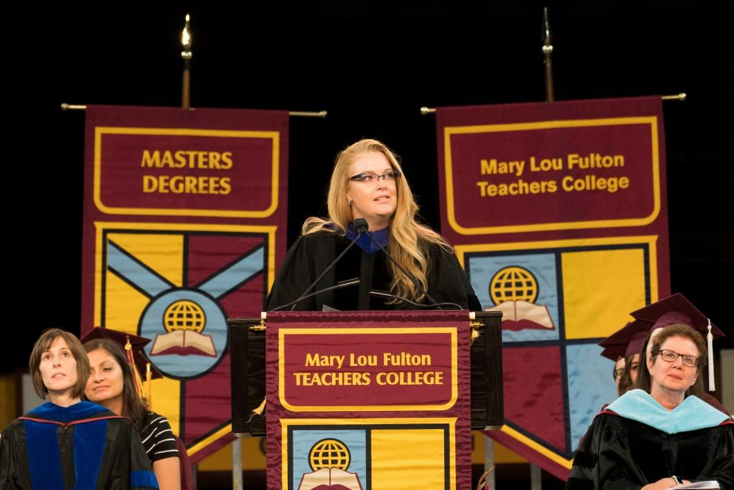 Mary Lou Fulton Teachers College convocation