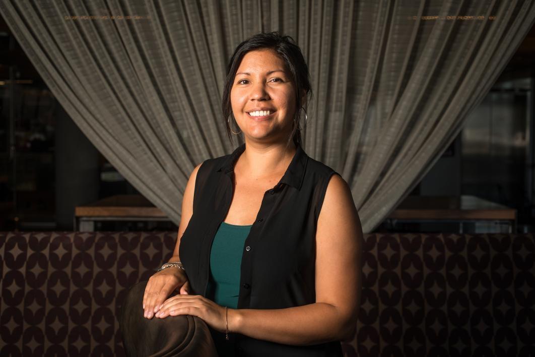 ASU doctoral student Michele Clark