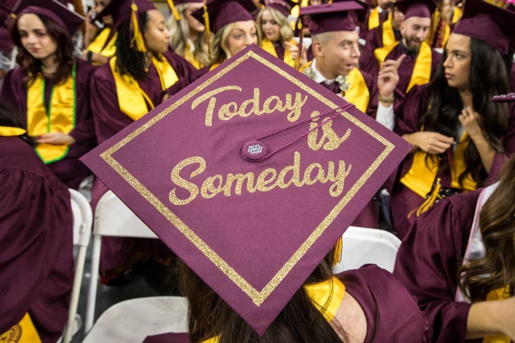 ASU fall 2017 undergraduate commencement