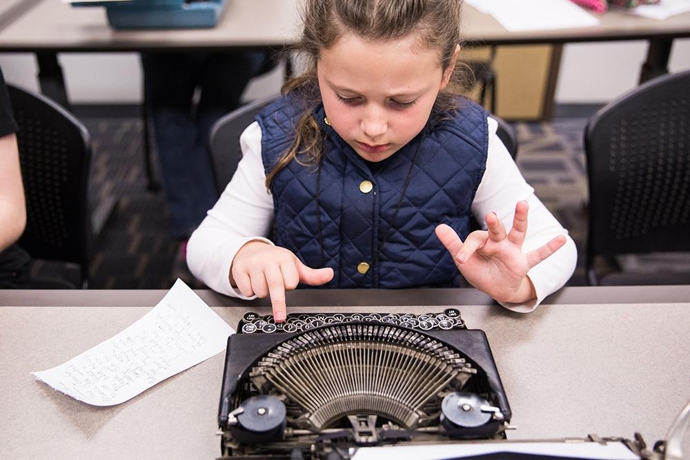 Old fashion typing