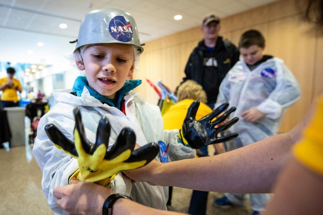 NASA outfit