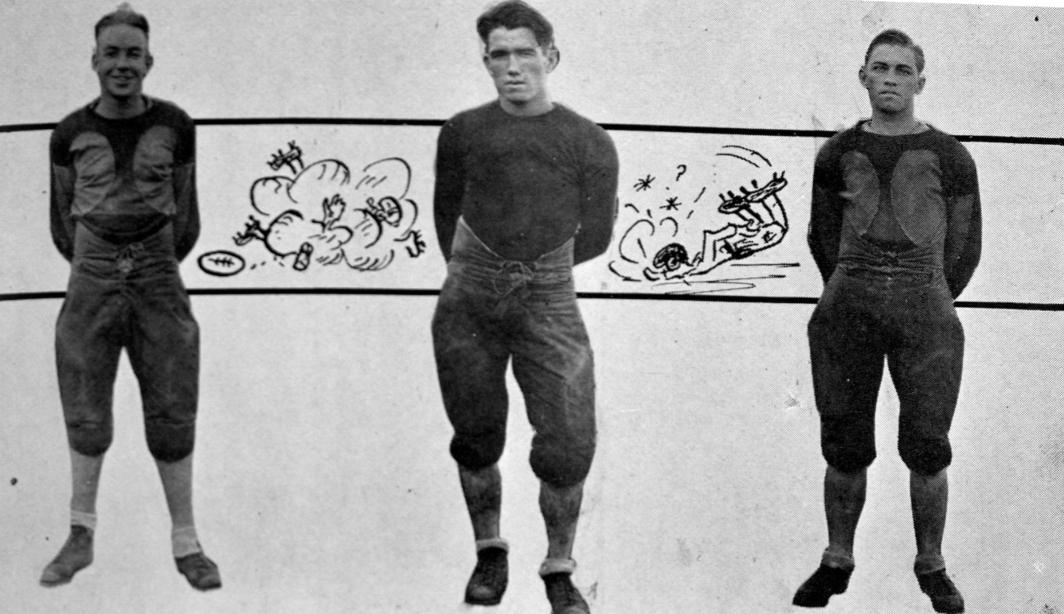 vintage football uniforms