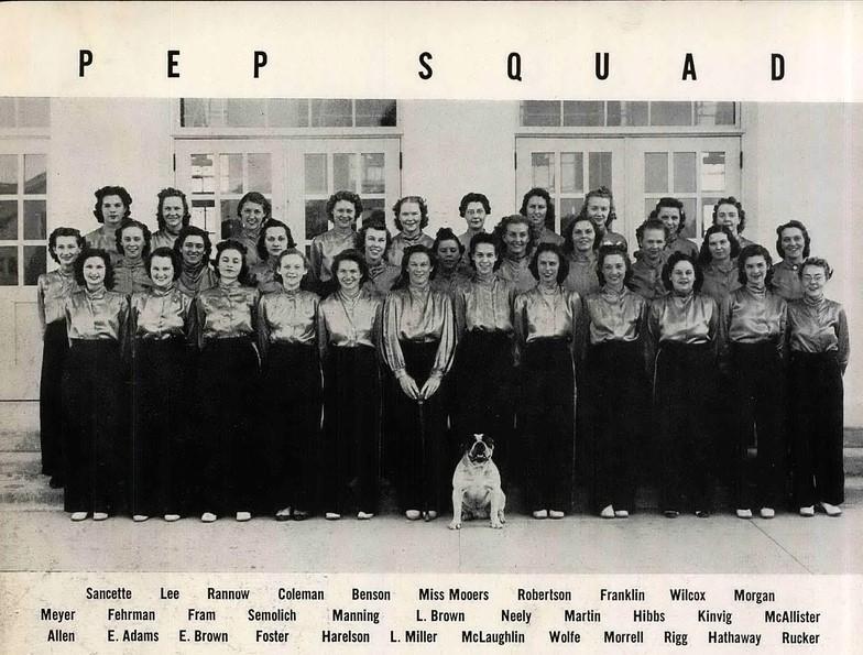 1939 Pep Squad
