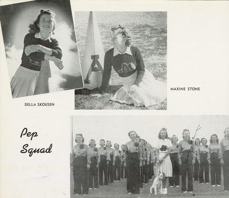1940 Pep Squad