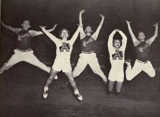 1951 Cheerleaders