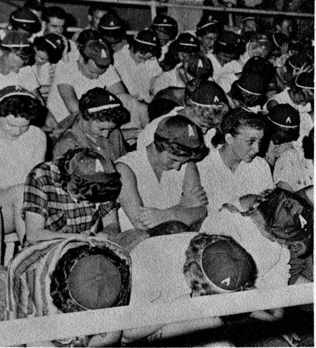 1960 The Sahuaro Yearbook image of freshmen wearing beanies