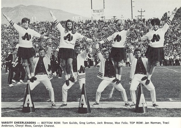 1968 Cheerleaders