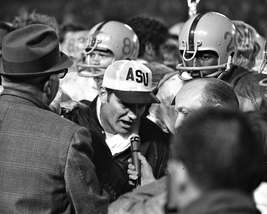 ASU Coach Frank Kush